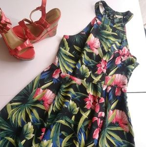 Hollister Floral Skater Dress